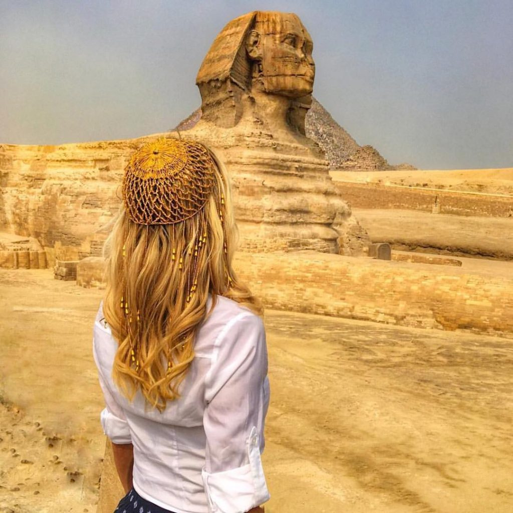 The Sphynx In Egypt