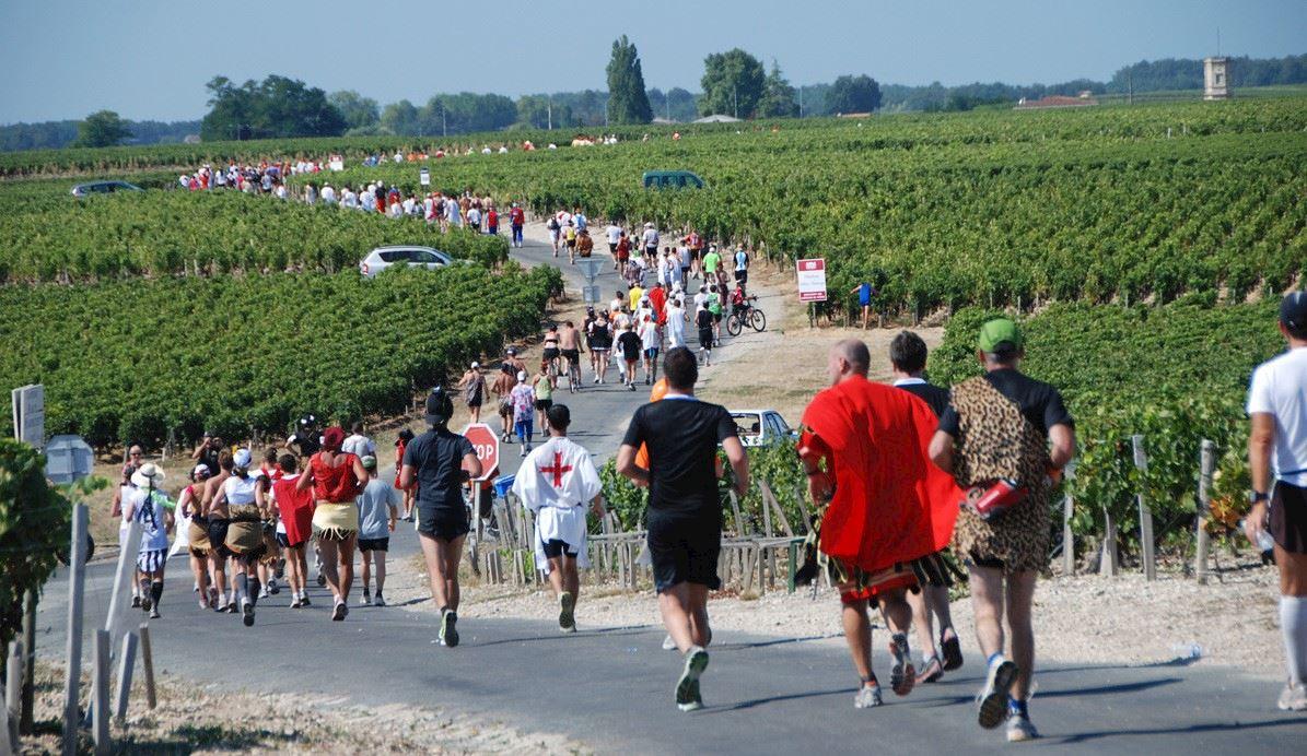 Le Marathon Des Châteaux Du Médoc