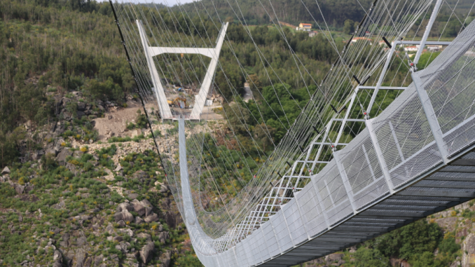 The Longest Suspension Bridge In The World