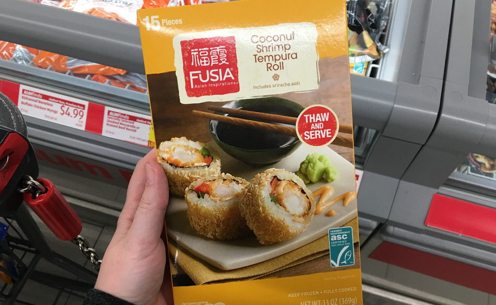 Skip Frozen Sushi