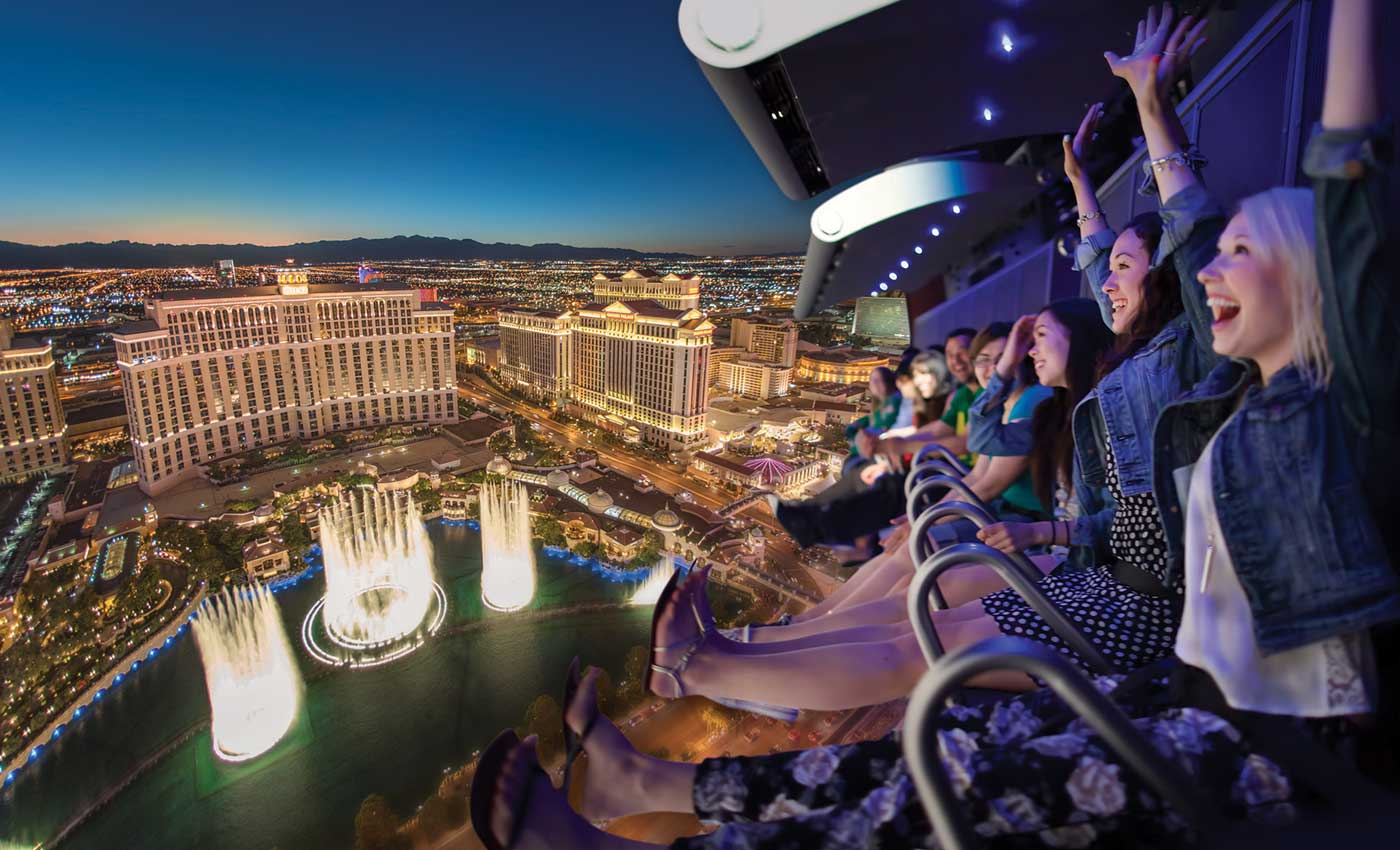 Fly Over The Las Vegas Strip