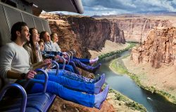 The Ride Takes You Over The Grand Canyon