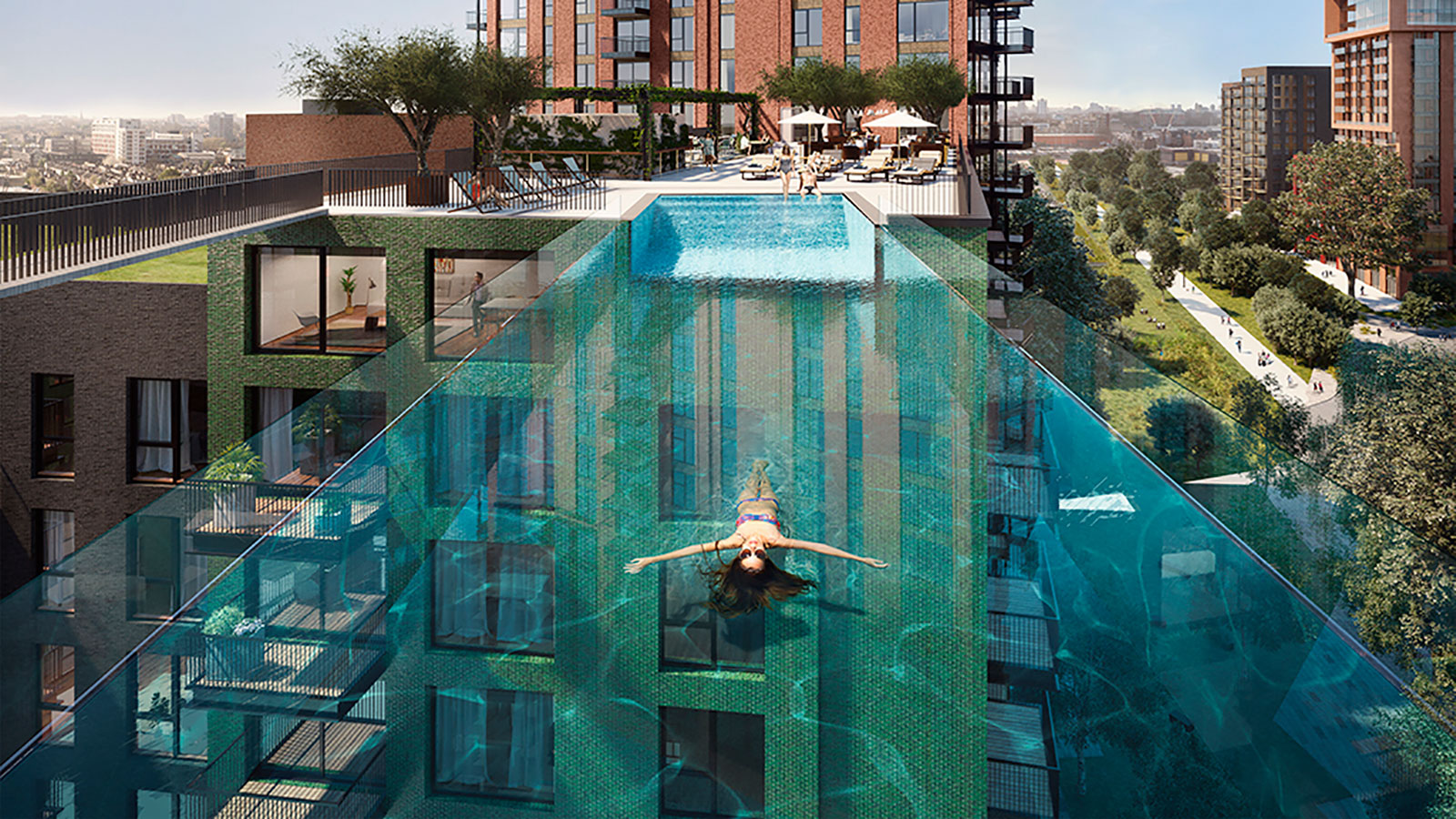 The London Sky Pool