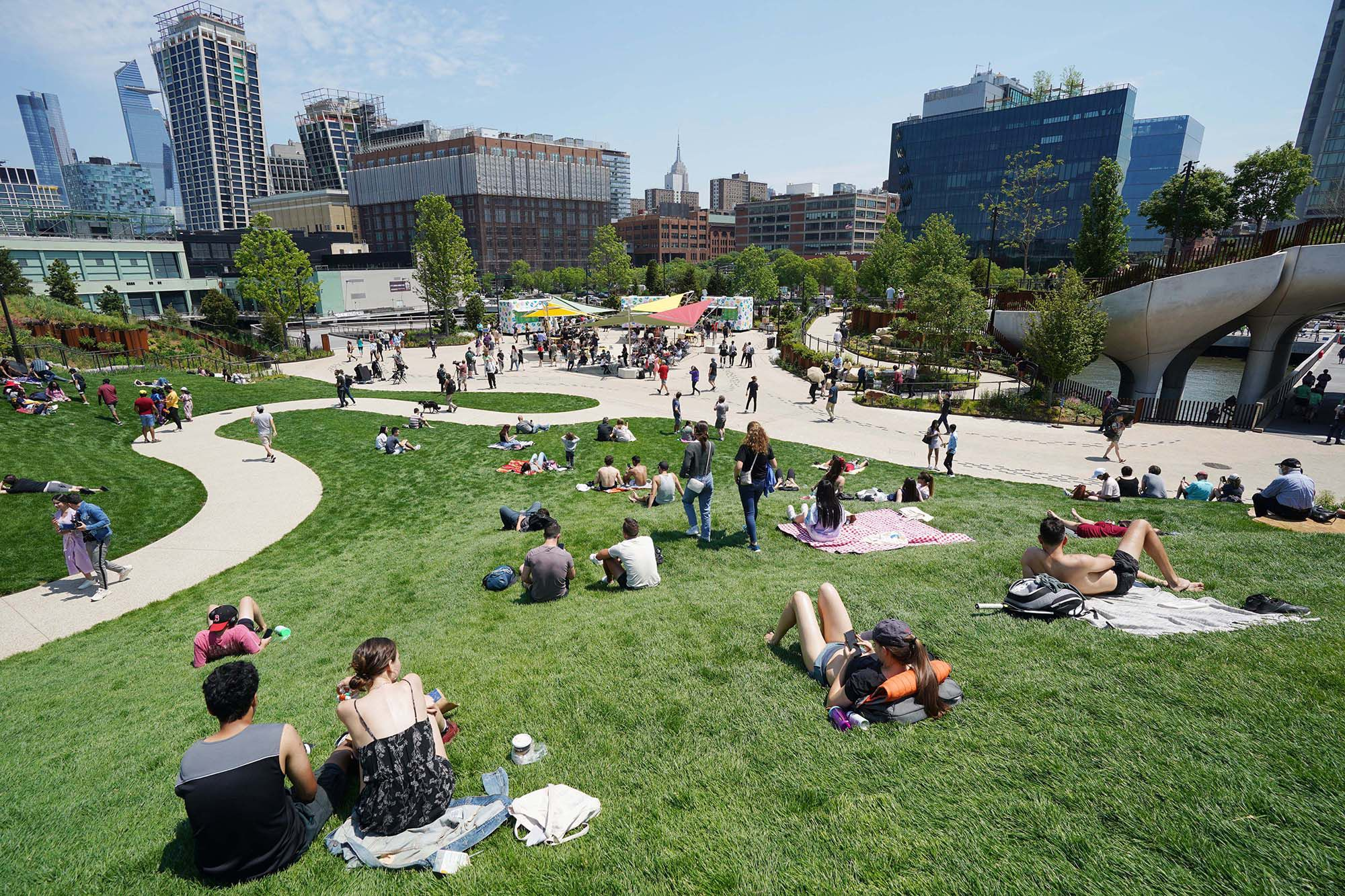 The Park Offers An Island Oasis To City Dwellers