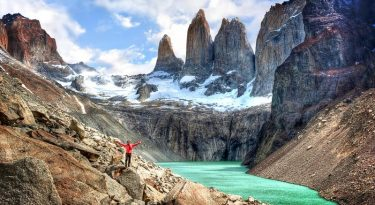 Paine Circuit, Torres Del Paine National Park, Chile